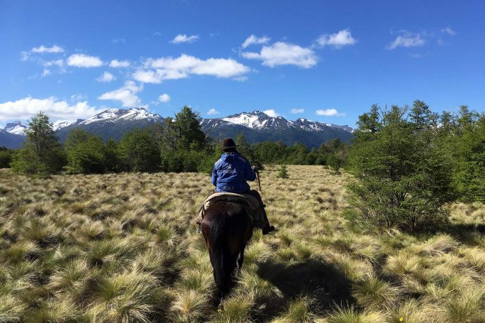 Horse riding gaucho guide